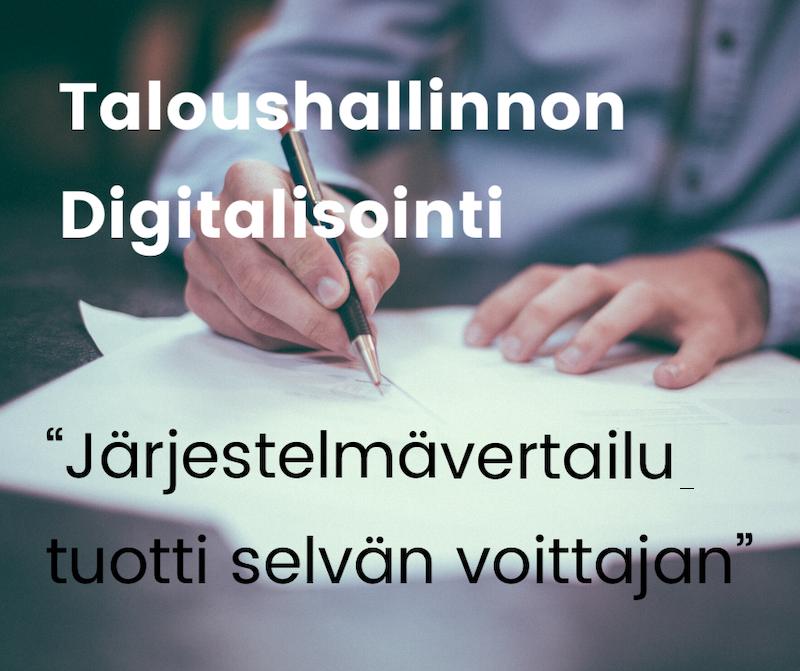 Laskutusjärjestelmän kartoitus päätyi nettilasku.fi palveluun